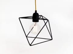 Lampada a sospensione a luce diretta incandescente in ferro ARIA   Lampada a sospensione in ferro - Aria
