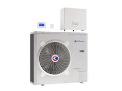 Pompa di calore a condensazione ad aria/acqua in metalloARIANEXT HYBRID UNIVERSAL - CHAFFOTEAUX