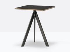 Tavolo quadrato in acciaio per contractARKI-BASE ARK3 | Tavolo quadrato - PEDRALI