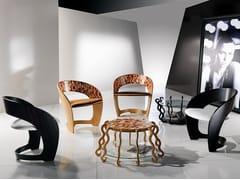 Sedia in legno con braccioliARLECCHINO - CARPANELLI