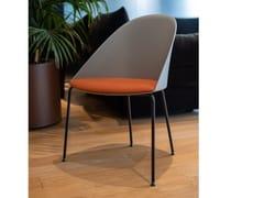 Sedia in polipropilene con cuscino integratoARPER - CILA - ARCHIPRODUCTS.COM