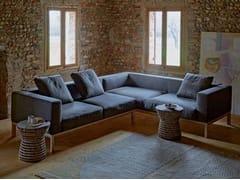 Divano angolare sfoderabile in tessuto con telaio in legnoARRIS | Divano - WOW ITALY