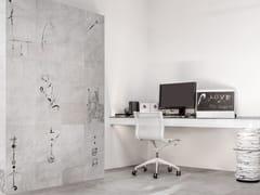 Pavimento/rivestimento in gres porcellanato effetto tessutoARTE PURA GRAFISMI - CERAMICHE REFIN
