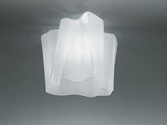 Lampada da soffitto in vetro soffiatoARTEMIDE - LOGICO - ARCHIPRODUCTS.COM