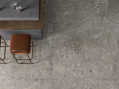 CERAMICHE KEOPE, ARTEMIS GREY Pavimento/rivestimento in gres porcellanato effetto pietra