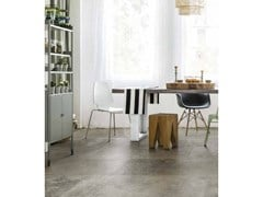 Pavimento/rivestimento in gres porcellanato effetto cementoARTIFACT   Crafted Graphite - CERIM FLORIM SPA