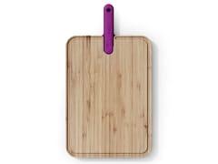 Tagliere in bambù con coltello da chef integratoARTÙ | Tagliere - TREBONN