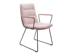 Sedia a slitta con braccioliARVA LIGHT | Sedia con braccioli - KFF GMBH & CO. KG