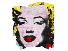 Tappeto fatto a mano in seta di bambù ARVIDSJAUR NORDIC RAW PR 031B - Henzel Studio Heritage: Andy Warhol / Art Rugs