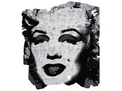 Tappeto fatto a mano in seta di bambù ARVIDSJAUR NORDIC RAW PR 031C - Henzel Studio Heritage: Andy Warhol / Art Rugs