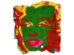 Tappeto fatto a mano in seta di bambù ARVIDSJAUR NORDIC RAW PR 031D - Henzel Studio Heritage: Andy Warhol / Art Rugs