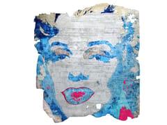 Tappeto fatto a mano in seta di bambù ARVIDSJAUR NORDIC RAW PR 031E - Henzel Studio Heritage: Andy Warhol / Art Rugs