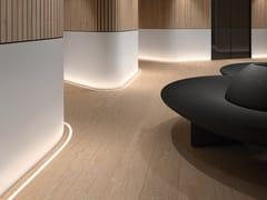 Profilo per illuminazione lineare in PVC per moduli LEDASAI 3D - LEDS C4