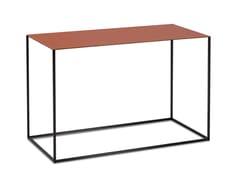 Tavolino di servizio rettangolare in pelle ASCOT JR-T938 | Tavolino rettangolare - Ascot JR-T938