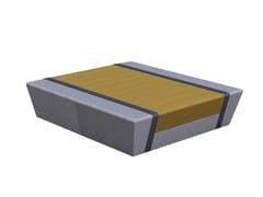Panchina in legno senza schienaleASHINGTON - EUROFORM K. WINKLER