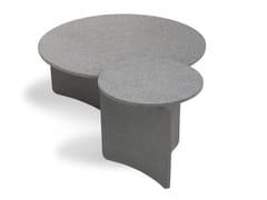 Tavolino basso rotondo in cementoASPIC | Tavolino - RODA