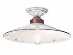 Plafoniera a luce diretta in ceramicaASTI | Plafoniera - FERROLUCE