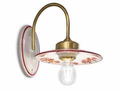 Applique in ceramica con braccio fissoASTI | Applique con braccio fisso - FERROLUCE