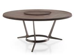 Tavolo da salotto rotondo in legno ASTRUM | Tavolo rotondo -