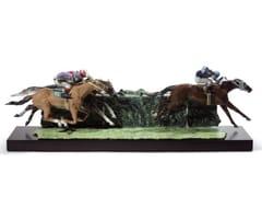 Soprammobile in porcellanaAT THE DERBY HORSES - LLADRÓ