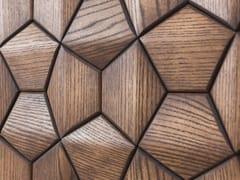 NEXT LEVEL DESIGN STUDIO, ATLANTA V1 Rivestimento tridimensionale modulare in legno