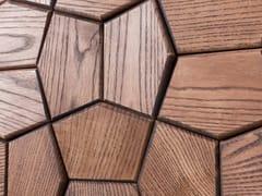 NEXT LEVEL DESIGN STUDIO, ATLANTA V2 Rivestimento tridimensionale modulare in legno