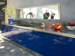Cucina da esterno in acciaio inoxATELIER 06 - ABIMIS IS A PRISMA S.R.L. BRANDMARK
