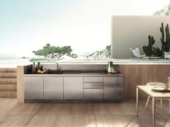 Cucina da esterno in acciaio inoxATELIER 14 - ABIMIS IS A PRISMA S.R.L. BRANDMARK