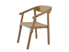 Sedia in rovere con braccioliATELIER | Sedia in rovere - ASKIA