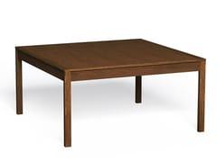 Tavolo pieghevole quadrato in legno masselloATHENA | Tavolo quadrato - LUKE HUGHES & COMPANY
