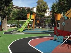 Pavimentazione per aree giochi e superfici polivalentiATHLON 45 - CASALI