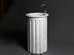 Lavabo freestanding in marmo di CarraraATLANTE - ANTONIO LUPI DESIGN®