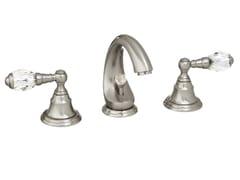 Rubinetto per lavabo a 3 fori con cristalli Swarovski® ATLANTICA | Rubinetto per lavabo a 3 fori - Atlantica