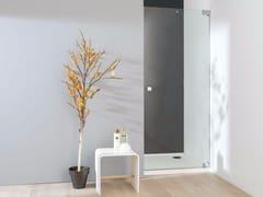 KRION, ATTICA 2 Box doccia in vetro con porta a battente