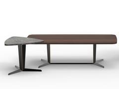 Tavolino di servizio in legno e marmoATTICO   Tavolino - MOLTENI & C.