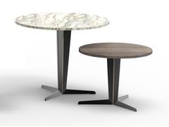 Tavolino di servizio rotondo con base a 3 razzeATTICO   Tavolino rotondo - MOLTENI & C.