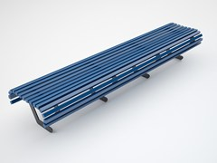 Panchina in ferro senza schienale AUDREY -