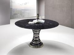 Tavolo rotondo in Crystal Stone® AURIGA | Tavolo rotondo -