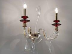 Applique in cristallo con cristalli Swarovski®AURORA A2 - EUROLUCE LAMPADARI