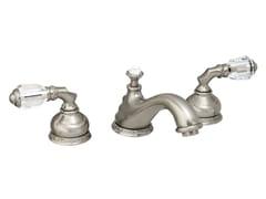 Rubinetto per lavabo a 3 fori con cristalli Swarovski® AUSTRAL | Rubinetto per lavabo a 3 fori - Austral