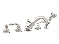 Set vasca a 5 fori con cristalli Swarovski® AUSTRAL | Set vasca con cristalli Swarovski® - Austral