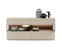 Madia in legno con ante a ribalta con illuminazione integrataAVENUE   Madia con illuminazione integrata - MD HOUSE