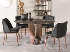 Tavolo rotondo in marmoAXIS | Tavolo in marmo - PACINI & CAPPELLINI