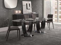 Tavolo in legno e vetroAXIS | Tavolo - PACINI & CAPPELLINI