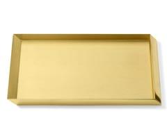 Vaschetta portadocumenti in ottoneAXONOMETRY | Vaschetta portadocumenti in ottone - GHIDINI GIUSEPPE BOSCO