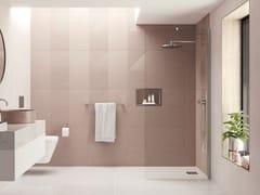 Flair Showers, AYO 1 lato con supporto angolare Box doccia con un pannello in vetro e barra stabilizzatrice