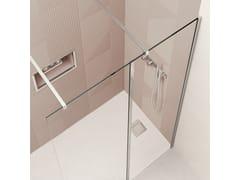 Flair Showers, Lato walk in AYO componibile Doccia walk-in su misura