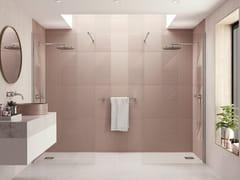 Flair Showers, Walk in AYO per 2 con entrata centrale Box doccia con pannelli in vetro e barre stabilizzatrici