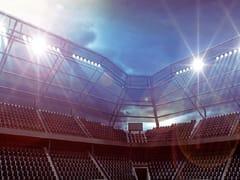 Balaustra per stadi e luoghi pubbliciB-5500 | B-5600 MAXIMA STADIUM - METALGLAS BONOMI