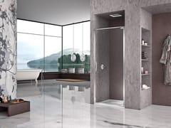 Box doccia a nicchia con porta a battente NATURA 4000 - AR-PTN L/R - Quadra